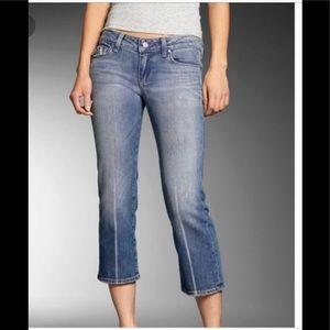Paige Fairfax Crop Jeans 32